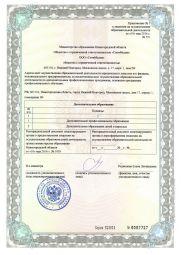 Лицензия на образовательную деятельность, приложения
