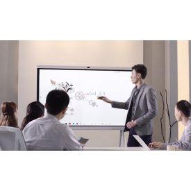 Компания СитиМедиа предлагает интерактивную панель для онлайн-совещаний ✨  Компания HUAWEI разработала и выпустила панель, кардинально отличающуюся от всех панелей, представленных сегодня на рынке.  Панель HUAWEIIdeaHub – уникальное техническое устройство, не имеющее аналогов! Теперь не нужны дополнительные вложения на приобретение вспомогательных устройств для проведения качественной конференцсвязи.   IdeaHub это: - Возможность передачи информации с панели в удаленные офисы одним касанием. - Сочетание независимых графических вычислений, искусственного интеллекта, а также аудио и видео кодеков. - Возможность присоединения к конференции, отсканировав смартфоном QR-код. - Возможность вставка примечаний в реальном времени. - Инновационный метод интеллектуального распознавания текста. - Сенсорный экран с точностью позиционирования в 1 мм. - Сверхнизкая задержка в 35 мс для качественного рукописного ввода. - Встроенный микрофонный массив, с радиусом распознавания человеческого голоса до 8м. - Кристальная чистота звука встроенной аудиосистемы. - Автоматическая регулировка угла обзора камеры в зависимости от размеров конференц-зала и количества участников. - Высокая четкость видеоизображения в режиме ВКС в формате Full HD. - Поддержка 4К (серия Pro). - Гибкое автоматическое переключение между окнами удаленных офисов.  Удобство, надёжность и лёгкость в использовании – HUAWEIIdeaHub!✨