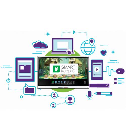 Интерактивный дисплей модель SPNL-6265 interactive flat panel с технологией iQ