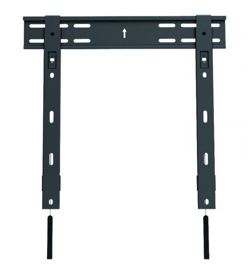 DSM07-44F ультраплоское крепление без наклона, толщина 10мм для ТВ до 40кг и VESA от 100х100 до 420x400мм (32-55``)