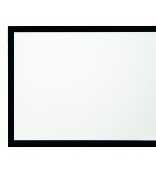 Frame Velvet 128″ 2.40:1 125x300 White Flex Kauber