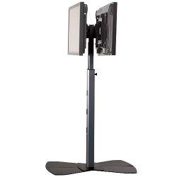 Напольная стойка PF2UB Black для двух дисплеев
