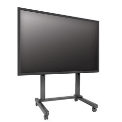Тележка для Flat-TV CHIEF XVM1X1U Black с  высотой 131см от пола до центра дисплея, крепежные отверстия до 1183х914 мм,  вес панели до 220кг / 90-105″