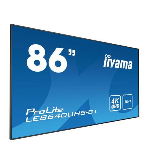 Профессиональный дисплей Iiyama LE8640UHS-B1