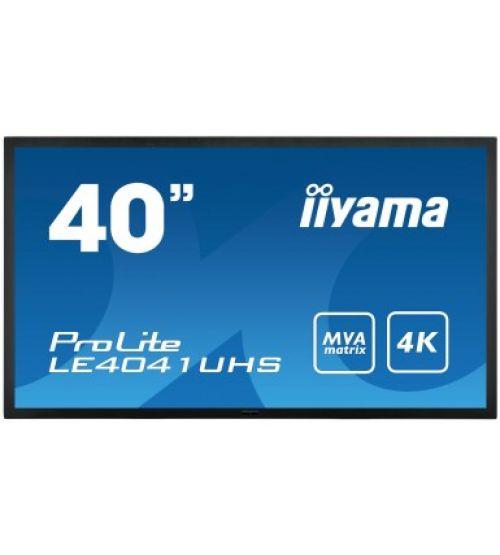 Профессиональный дисплей Iiyama LE4041UHS-B1