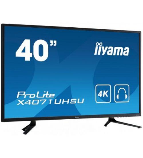 Профессиональный дисплей Iiyama Х4071UHSU-B1 A