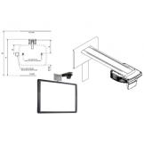 Ультракороткофокусный проектор UST-P2 с раздельным настенным креплением