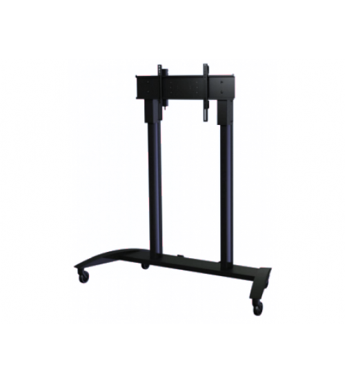 Универсальная стойка для интерактивных панелей (СМС). Цвет чёрный