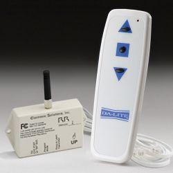 РЧ приемник/передатчик Da-lite (требует наличия у экрана системы LVC)