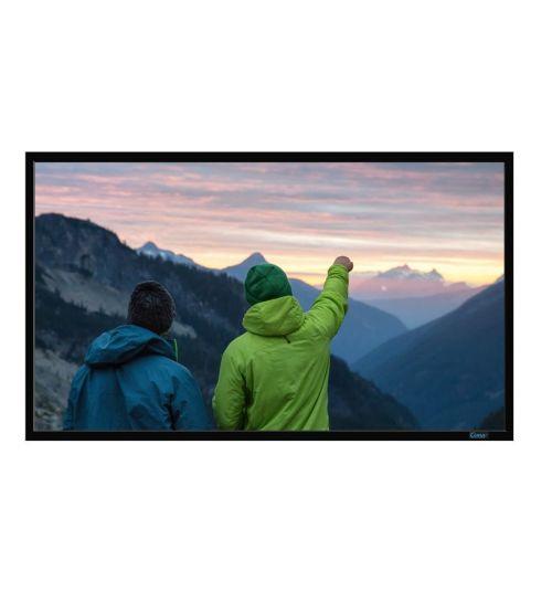 "Экран на раме CIMA FF Stewart 158"" 2.35:1, 157x370 Neve White (1.1)."