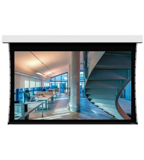 "Экран настенный с электроприводом Stewart Cima BC 135"", 16:9 168x300 Neve White(1.1) дроп.15см STI"