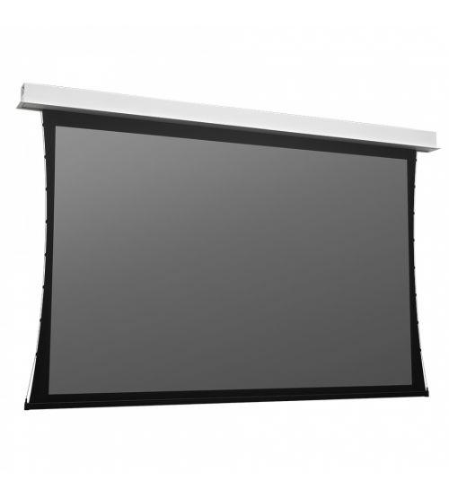 """Экран встраиваемый с электроприводом Projecta Tensioned DescenderPro 104"""" 16:9 129x230Parallax1.0 Stratos (10102318)."""