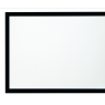 """Kauber Frame Velvet 128"""" 2.40:1 125x300 White Flex ."""