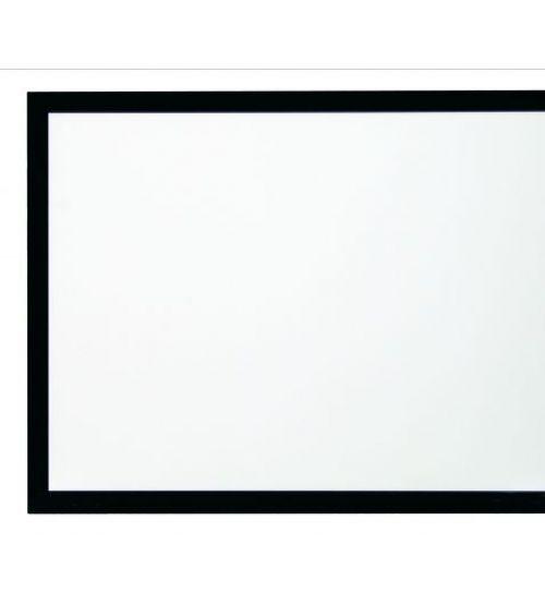 """Kauber Frame Velvet Cinema 154"""" 16:9 191x340 White Flex ."""