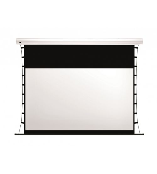 "Экран с электроприводом Kauber Blue Label Tensioned BT Cinema 113"" 16:9 141x250 дроп 50 см. Clear Vision"