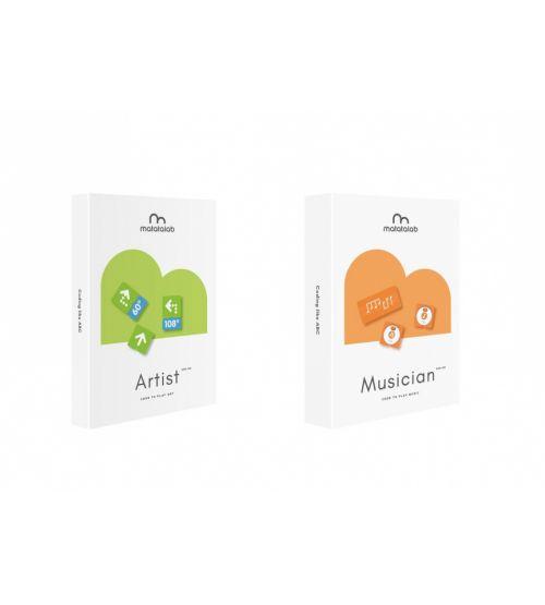 Ресурсный набор для программирования рисунка Matatalab Artist Add-on.