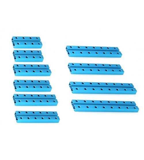 Ресурсный набор коротких балок Short Beam 0824 Robot Pack-Blue.