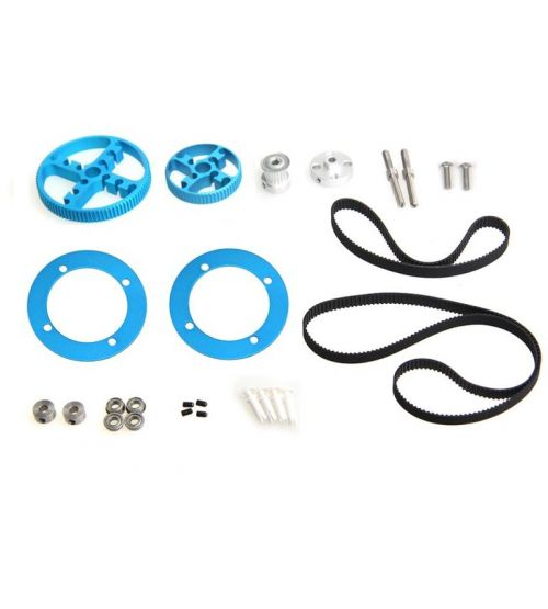 Ресурсный набор с ременной передачей Timing Belt Motion Pack-Blue.