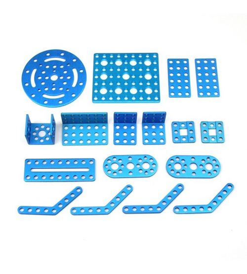 Ресурсный набор Bracket Robot Pack-Blue.