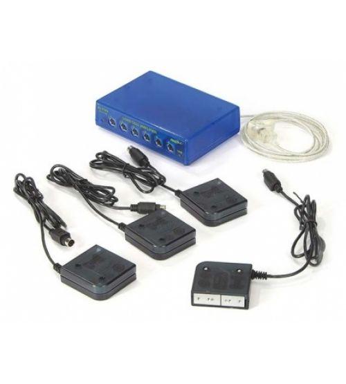 Цифровой уcилитель и тензодатчики (4 шт.) PASCO