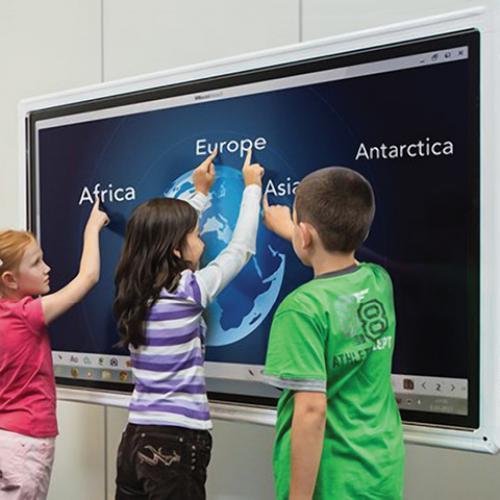 Интерактивные панели для оснащения классов