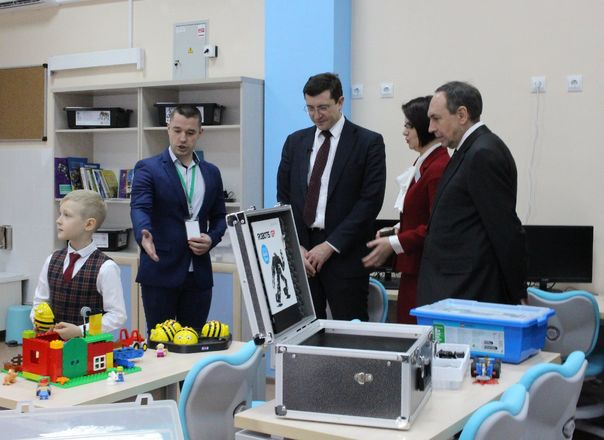 Оснащение новой школы в Павлово