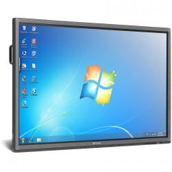 Интерактивная панель 55 дюймов со встроенным ПК PRESTIGIO MultiBoard PMB554H558 Interactive Board, Multi-Touch, Intel PC, i5, 4GB, 500GB, 55in, Win8.1 на мобильной стойке.