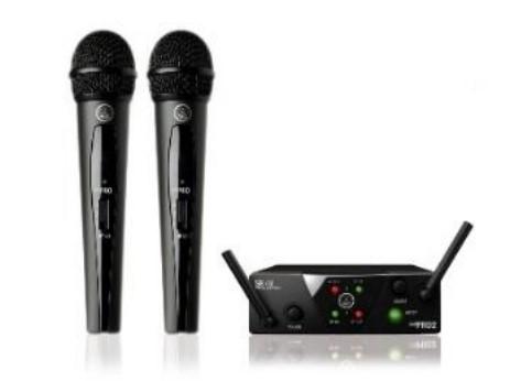 Вокальная радиосистема с 2-мя микрофонами AKG WMS40 Mini2 Vocal Set Dual