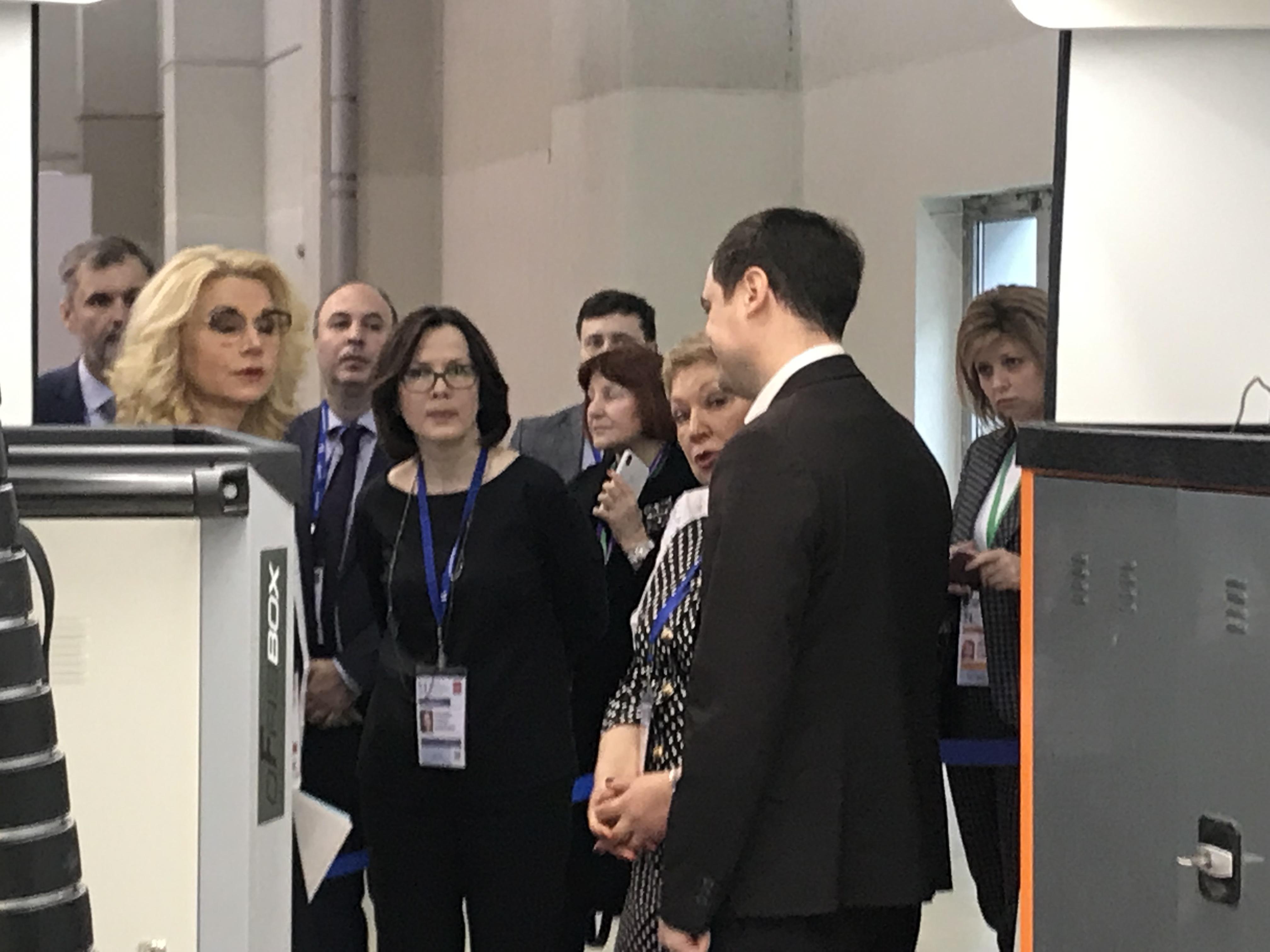 Концепт мобильного комплекса для детских технопарков Кванториум на ММСО в Москве